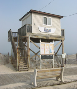 Lavallette lifeguard station
