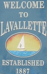 welcome to Lavallette sign